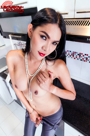 Asian Tranny Cumshots