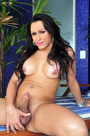 Hung Big Dick Latina TGirl