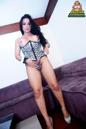 Big Dick Brazilian Shemale Tranny Cock