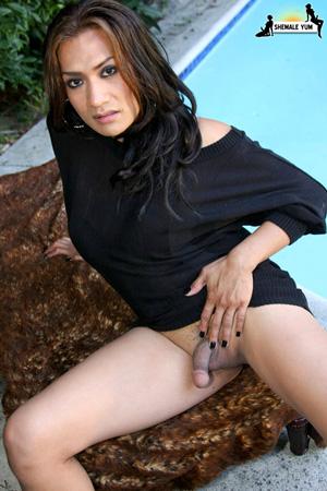 Big Dick Latina TGirl Porn