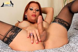 Thick Cut Latina Tranny Cock