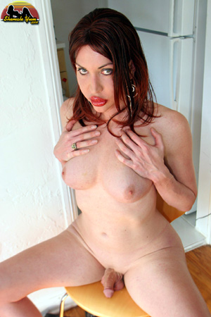 Shaved Small Cock Tranny