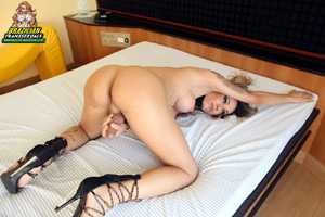 Tattooed Shemale Hung Tranny Porn